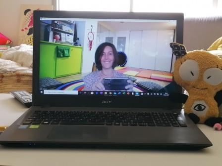 atelier en ligne de découverte des signes LSF avec bébé